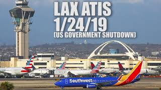 UNPAID Los Angeles Air Traffic Controllers SLAM government shutdown!