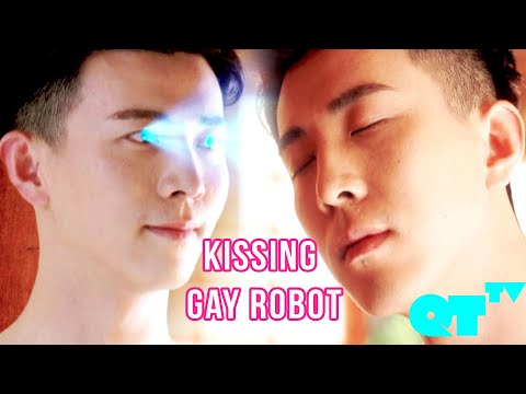 When A Robot Is Gay And Wants To Make Out With You | My Girlfriend's Boyfriend | Gay Comedy