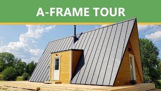 A-frame House Tour - Avrame DUO 100