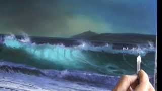 HOW TO PAINT WAVES AND FOAM, PART 1 by Alan Kingwell