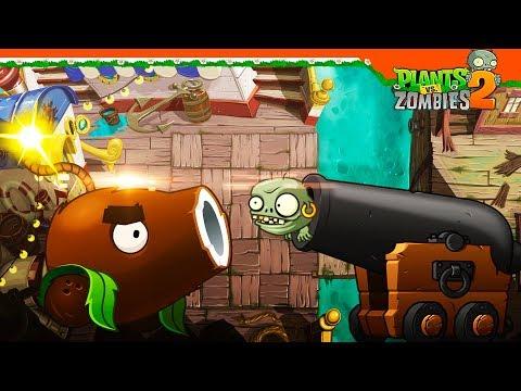 🥥 ЧЬЯ ПУШКА КРУЧЕ?? 🥥 Plants Vs Zombies 2 (Растения против зомби 2) Прохождение