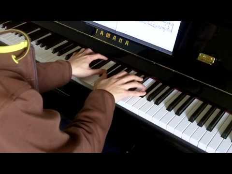 ABRSM Piano 2013-2014 Grade 7 C:6 C6 Prokofiev Con Vivacita Op.22 No.11 Performance