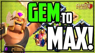 GEM to MAX - Clash of Clans UPDATE!