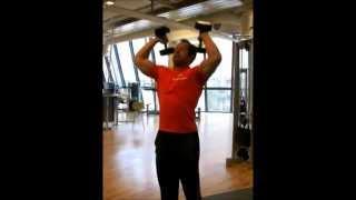 Triceps extension fra skulder
