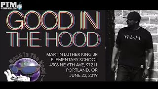 P-Town Media Live - Ronnie Wright at Good in the Hood