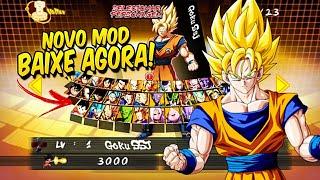Gambar cover INCRÍVEL! SAIU NOVA VERSÃO DO DRAGON BALL FIGHTERZ MOD TAP BATTLE PARA ANDROID!