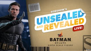Hot Toys' Batman Deluxe Sixth Scale Unboxing - Sideshow's Unsealed and Revealed