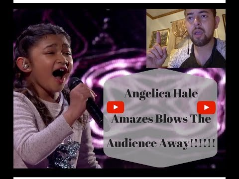 Angelica Hale: 10- Year -Old Singer Blows The Audience Away Americas Got Talent 2017 REACTION