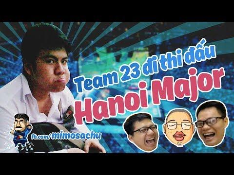Mimosa Chu | Cast team 23 Creative đi thi đấu Hanoi Major