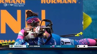 Biathlon 2020 in Nove Mesto - Sprint der Damen - vom 05.03.2020