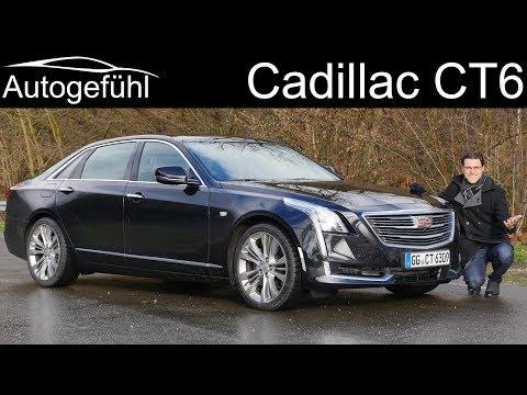 Cadillac CT6 FULL REVIEW luxury sedan 2018 - Autogefühl