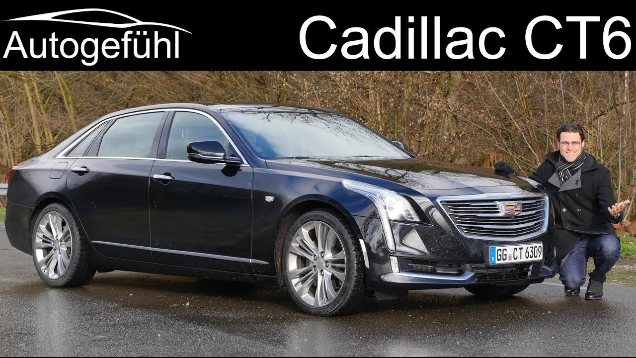 Cadillac Ct6 Full Review Luxury Sedan 2018 Autogefuhl Youtube