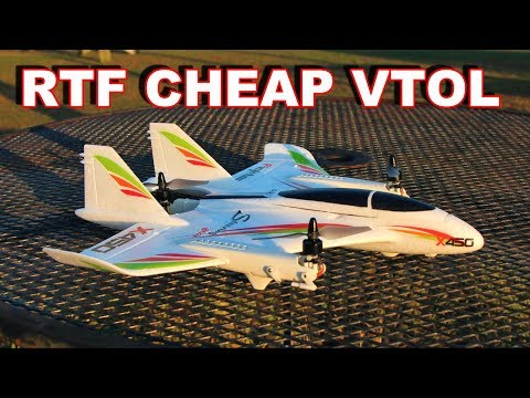 You Won't Believe How EASY this RC VTOL Plane Flies - TheRcSaylors