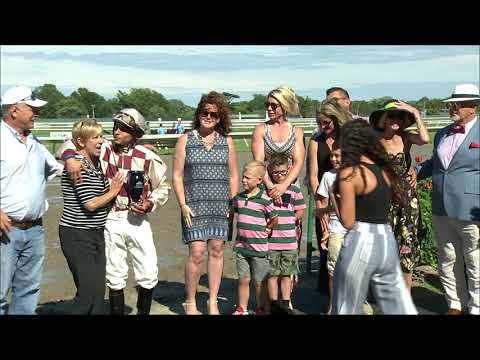 video thumbnail for MONMOUTH PARK 6-21-19 RACE 8