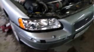 Как снять бампер на Volvo s60