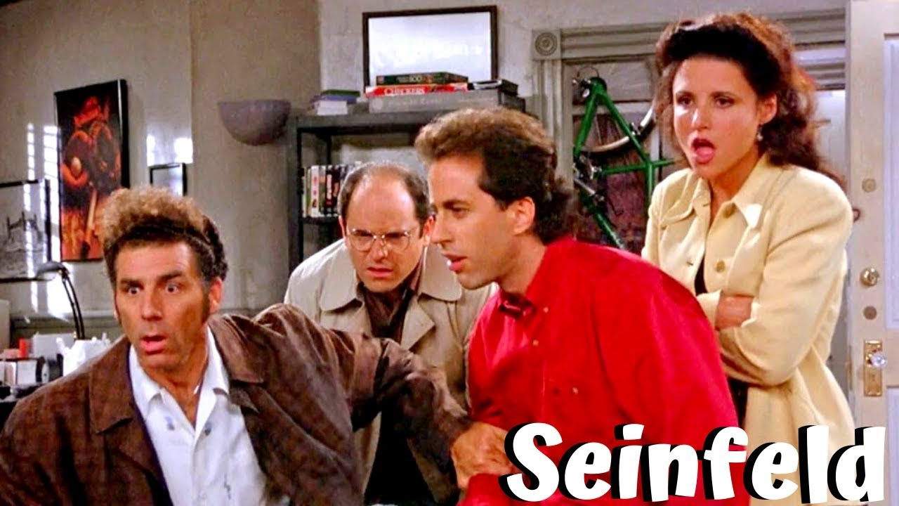 Seinfeld Funniest Moments Tv Series 1989 1998 Youtube