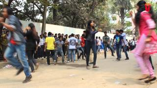 ICC world Twenty 20 2014 Bangladesh Flash Mob - University of South Asia