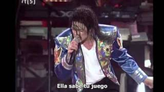 Michael Jackson - Blood on the dance floor Live (Subtitulado español)