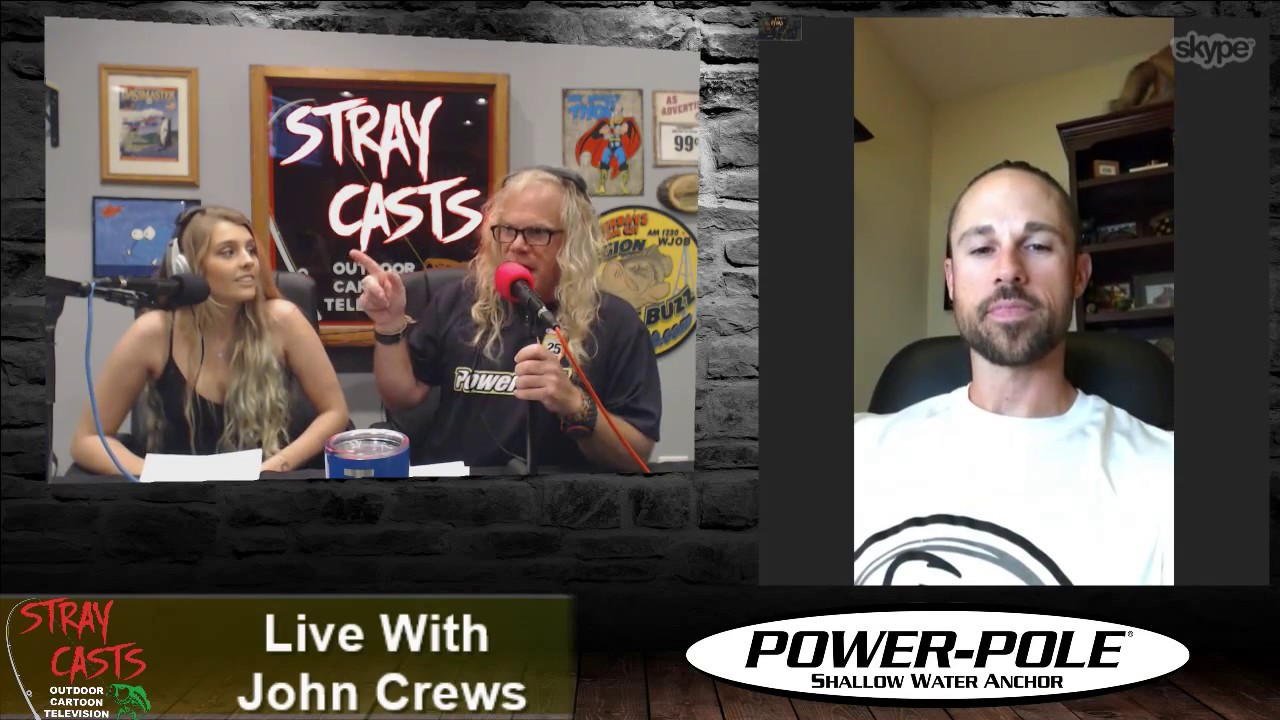 Stray Casts September 6, 2017 featuring John Crews! Jason Christie!