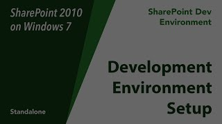 SharePoint 2010 Development Environment on Windows 7 (Standalone)