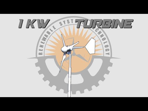 DIY Axial Flux Wind Turbine - Renewable Systems Technology