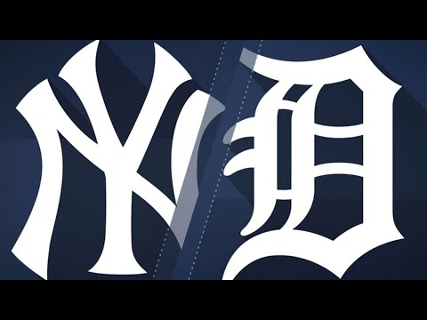 8/22/17: Yankees offense erupts in rout of Tigers