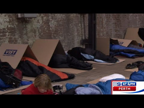 CEO Sleepout | 9 News Perth