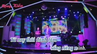 Xin Tra Cho Em { karaoke } thieu giong nu