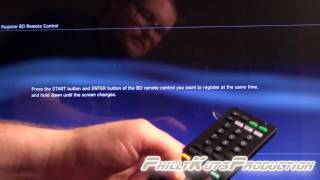 PS3 Media Blu-ray Disc Remote Control Unboxing Setup & Overview