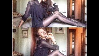 Анастасия Костенко донашивает старые туфли Ольги Бузовой
