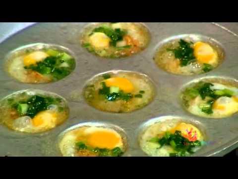 Lê Khánh làm món sò điệp trứng cút - Vui Sống Mỗi Ngày [VTV3 - 21.03.2014]