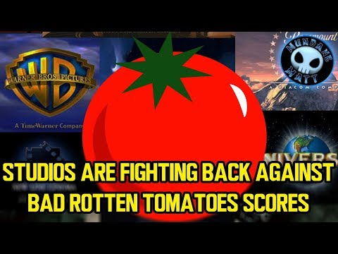 Studios are fighting back against bad Rotten Tomatoes scores