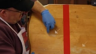 Repair of a Water Stain on Maple Wood : Furniture Repair Tips