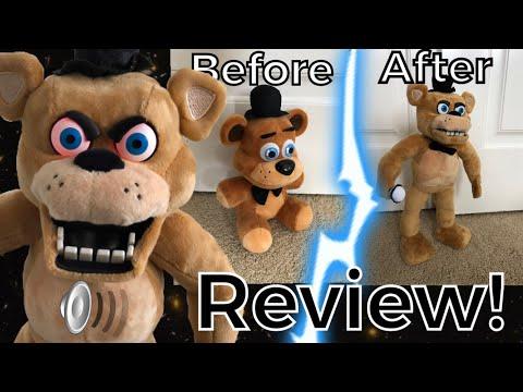 Realistic Freddy Fazbear Plush Review (FNAF)