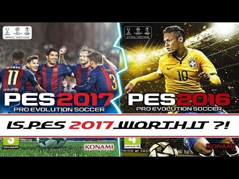 pes-2017-vs-pes-2016-|-gameplay-graphics-comparison-|-is-it-worth-it?!-|-fc-barcelona-vs-real-madrid