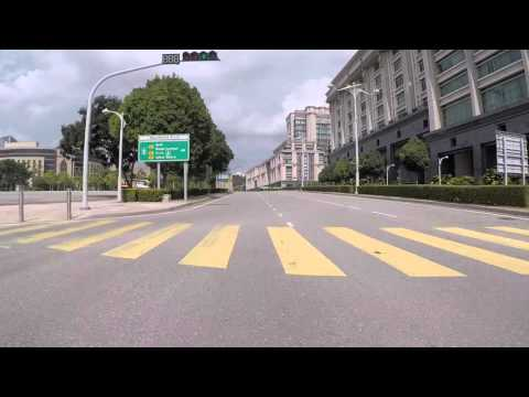 Malaisie Putrajaya Routes dans le centre ville, Gopro / Putrajaya Road in city center, Gopro