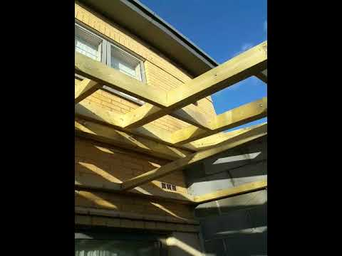 Single store rear extension - Roof structure