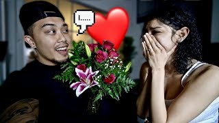 "Telling My Girlfriend ""I Love You"" For The First Time! *CUTE REACTION*"