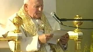 Jan Paweł II 1997 Poznań   homilia cz1