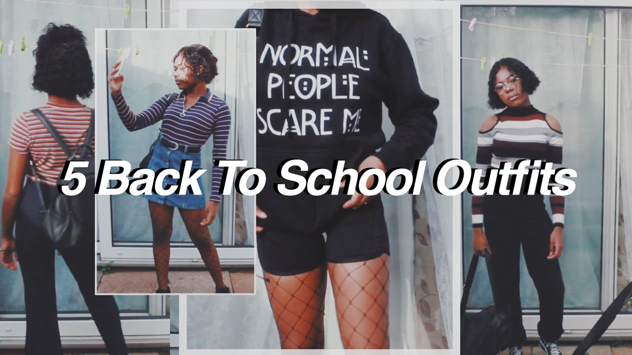 [VIDEO] - AESTHETIC BACK TO SCHOOL OUTFIT IDEAS 7