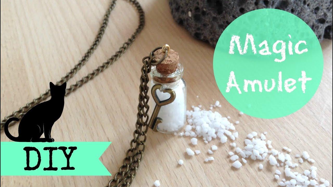 DIY Magic Amulet Bottle Charm - Michelle´sCuties Collab
