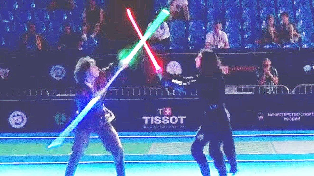 Real-Life Star Wars Lightsaber Battle Gets INTENSE