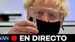 DIRECTO: Boris Johnson informa sobre la aprobación de la vacuna de Pfizer en el Reino Unido