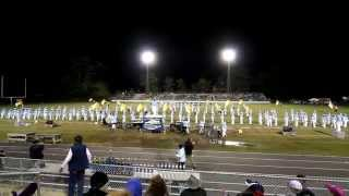 Union Pines Marching Vikings - 2014 Lee County Brick Capital Classic