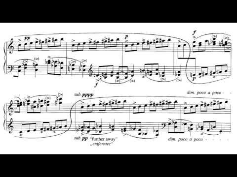 György Ligeti - Études for Piano (Book 1), No. 4 [4/6]