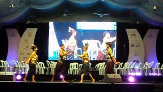 Thai Folk Dance by Songkhla Rajabhat University of Thailand