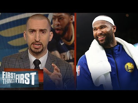 Nick Wright analyzes Boogies impact on Warriors, talks ADs future | NBA | FIRST THINGS FIRST