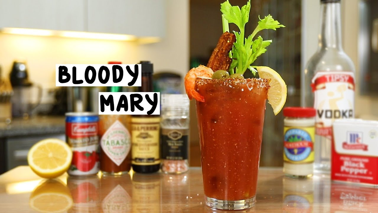 Bloody mary youtube for Coctel bloody mary