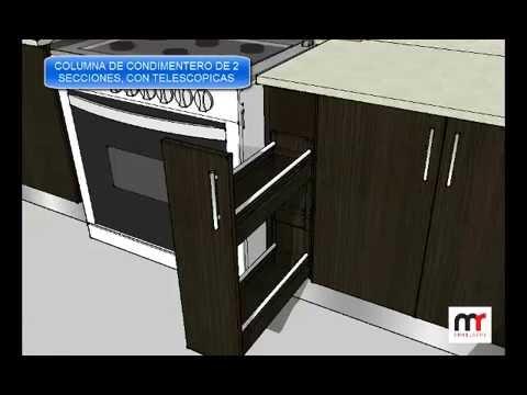 Muebles de cocina adrianzen en melamina wengue novokor de for Muebles para zapatos en melamina