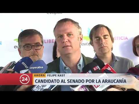 Felipe Kast anuncia que se pos felipe kast